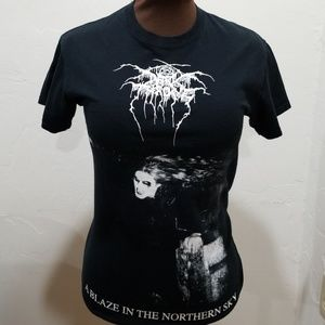 Dark Throne A Blaze in the Northern Sky band shirt